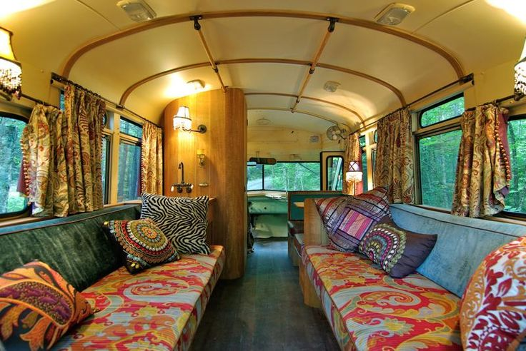 A Tiny Bus Converted Into A Beautiful Motorhome - Winkelman Architecture in Maine on the US East coast, working with Interior Designer Vince Moulton and Linken Bay Woodworkers have made a comprehensive and wonderful conversion of an old 1959 Chevrolet Viking Short Bus, originally designed to take twelve passengers plus a driver into the most beautiful of bohemian motorhomes.