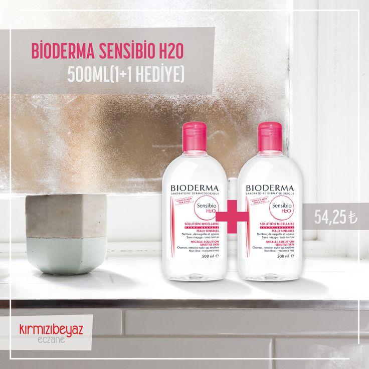 Bioderma'nın yıldızı Sensibio H2O 1+1 avantajı ve muhteşem fiyatıyla: