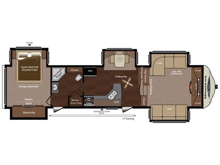 2016 Heartland Torque Xlt T31 Floor Plan Toy Hauler Rv