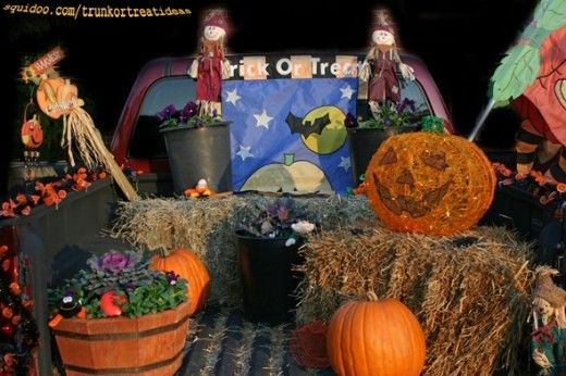 womens asics footwear Truck Halloween Decoration Trunk or Treat