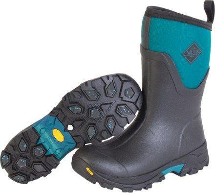 Muck Boot Women's Arctic Ice Mid Winter Boots Black/Teal 11 #MuckBoots