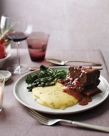 Pomegranate-Braised Short Ribs - Martha Stewart Recipes
