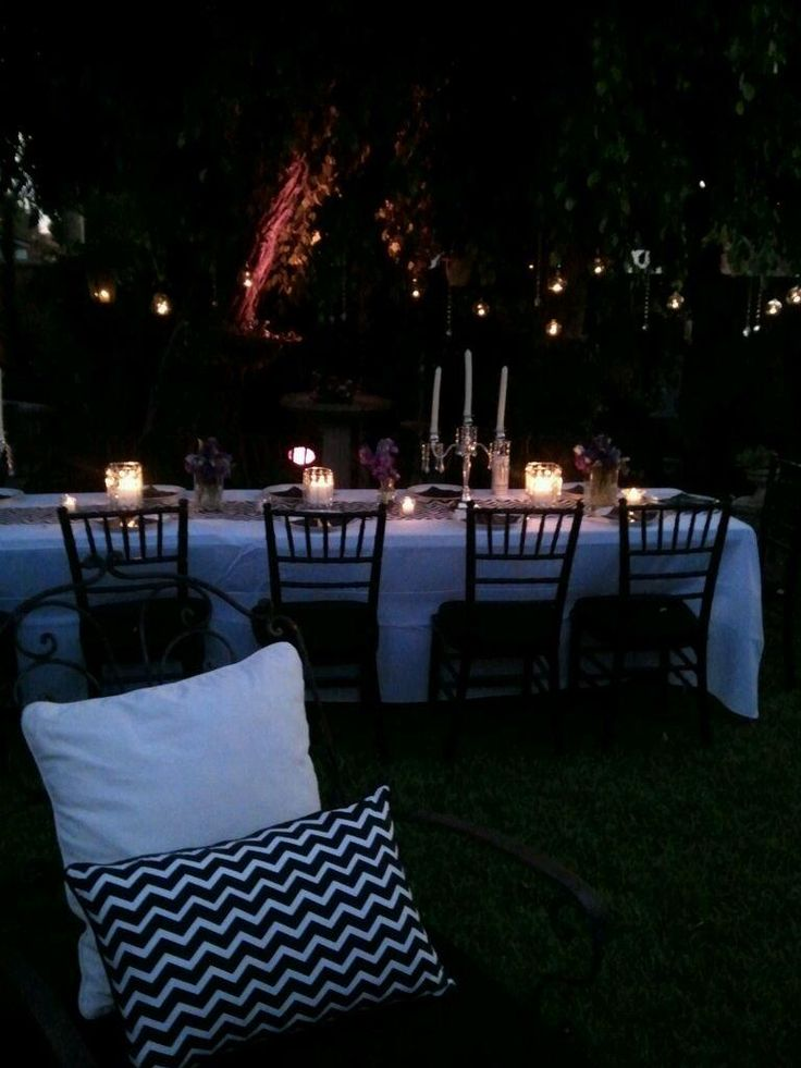 Chevron party theme