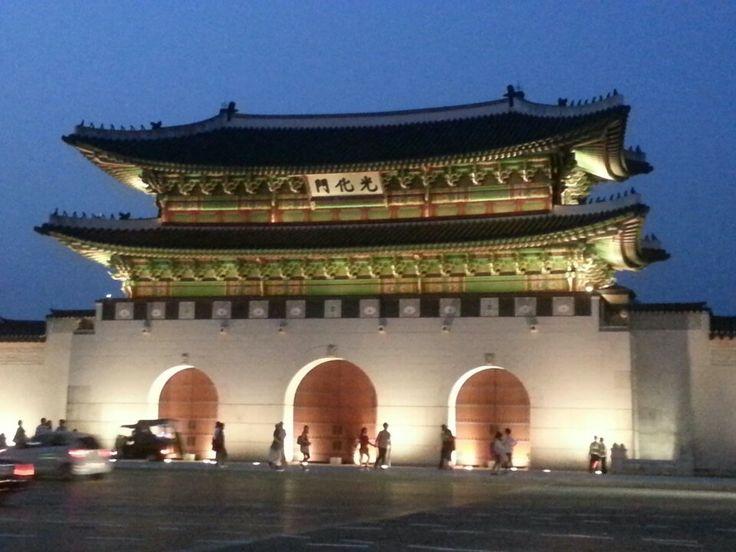 광화문 (光化門, Gwanghwamun)