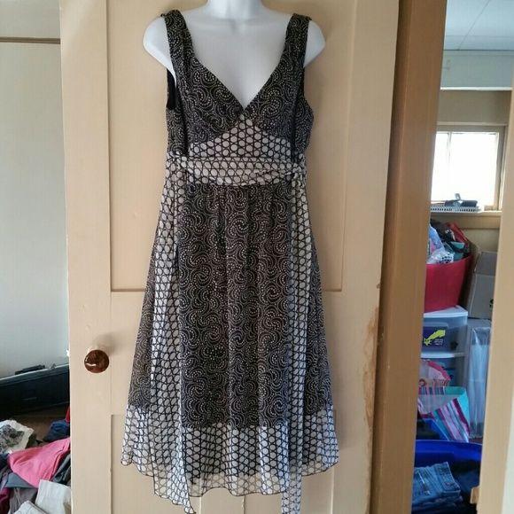 B. Smart polka dot dress Size 12, worn but great condition. B. Smart Dresses