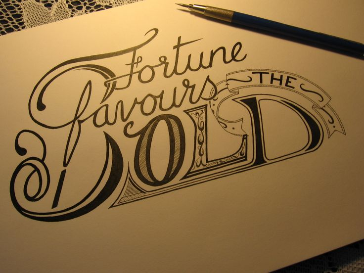 Fortune favors the bold tattoos pinterest the o 39 jays for Latin tattoo fonts