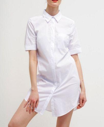 More & More Sukienka koszulowa white