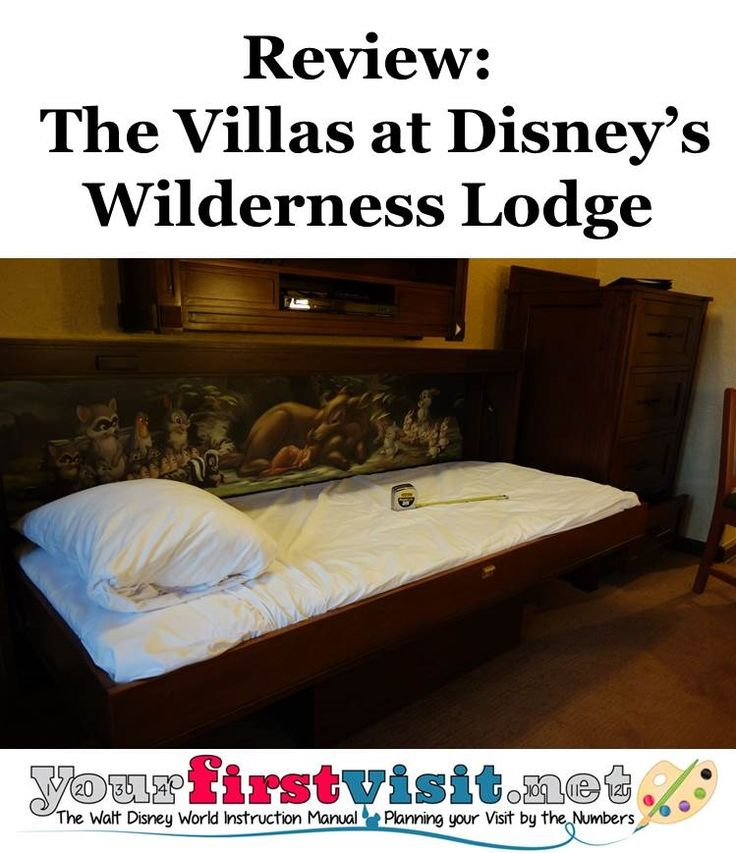 Review The Villas at Disneyu0027s Wilderness