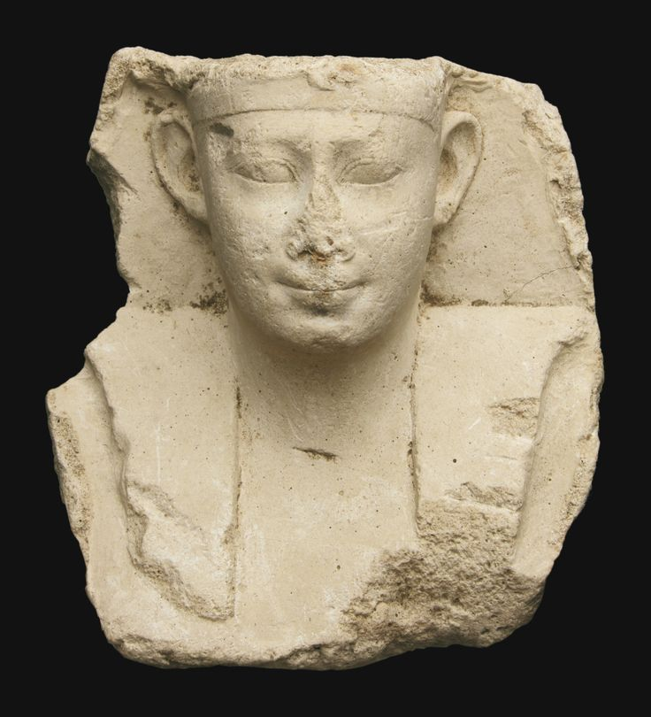 An Egyptian Limestone Votive Bust of a King, early Ptolemaic Period, circa 305-200 B.C. | lot | Sotheby's: