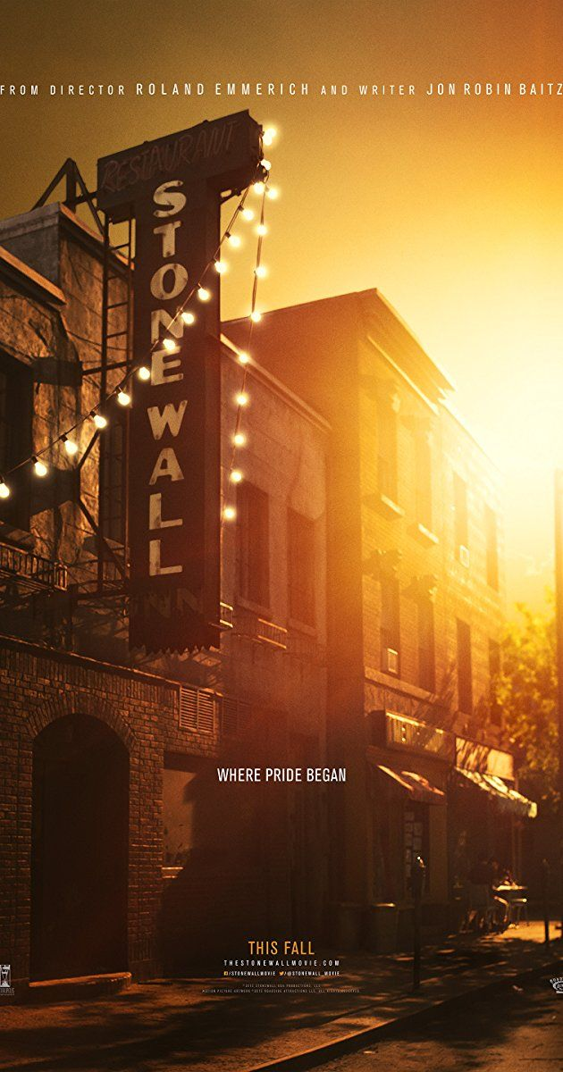 Directed by Roland Emmerich. With Jeremy Irvine, Jonny Beauchamp, Joey King, Caleb Landry Jones. A young man's political awakening and coming of age during the days and weeks leading up to the Stonewall Riots.