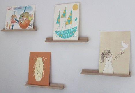 Diy Tiny Shelves From Scrabble Tile Holders Organized