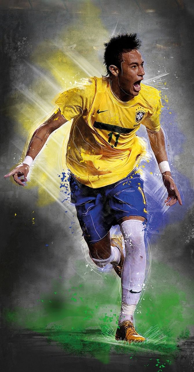 Neymar - Brazilian soccer player