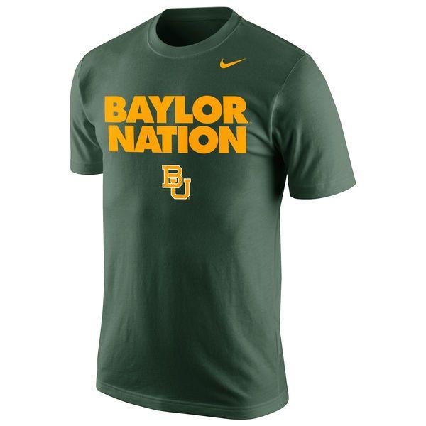 Baylor Bears Nike Selection Sunday T-Shirt - Green - $19.99