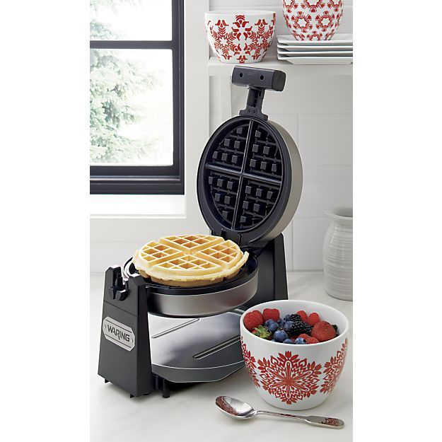 Waring ® Belgian Waffle Maker | Crate and Barrel