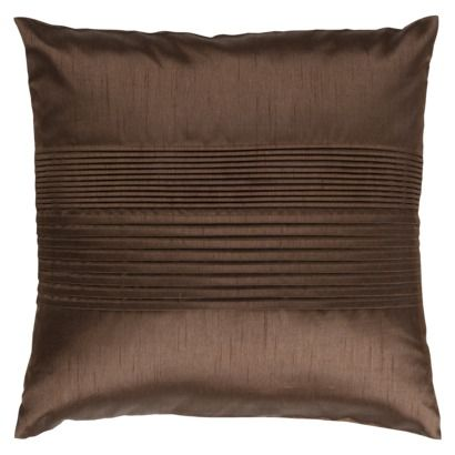 Bedroom: Pleated Toss Pillow