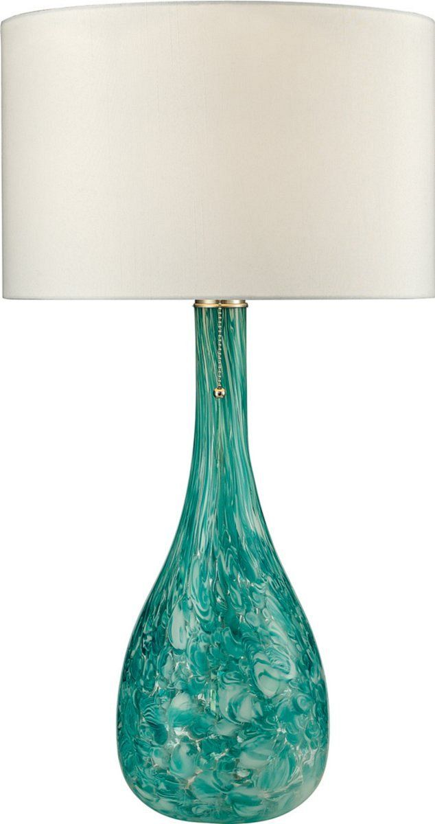 22 best lamps images on pinterest glass table lamps blown glass mediterranean 1 light table lamp seafoam green aloadofball Choice Image