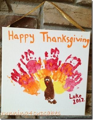 thanksgiving crafts for babies | Thanksgiving Baby Craft - running4cupcakes.com | Crafty Projects