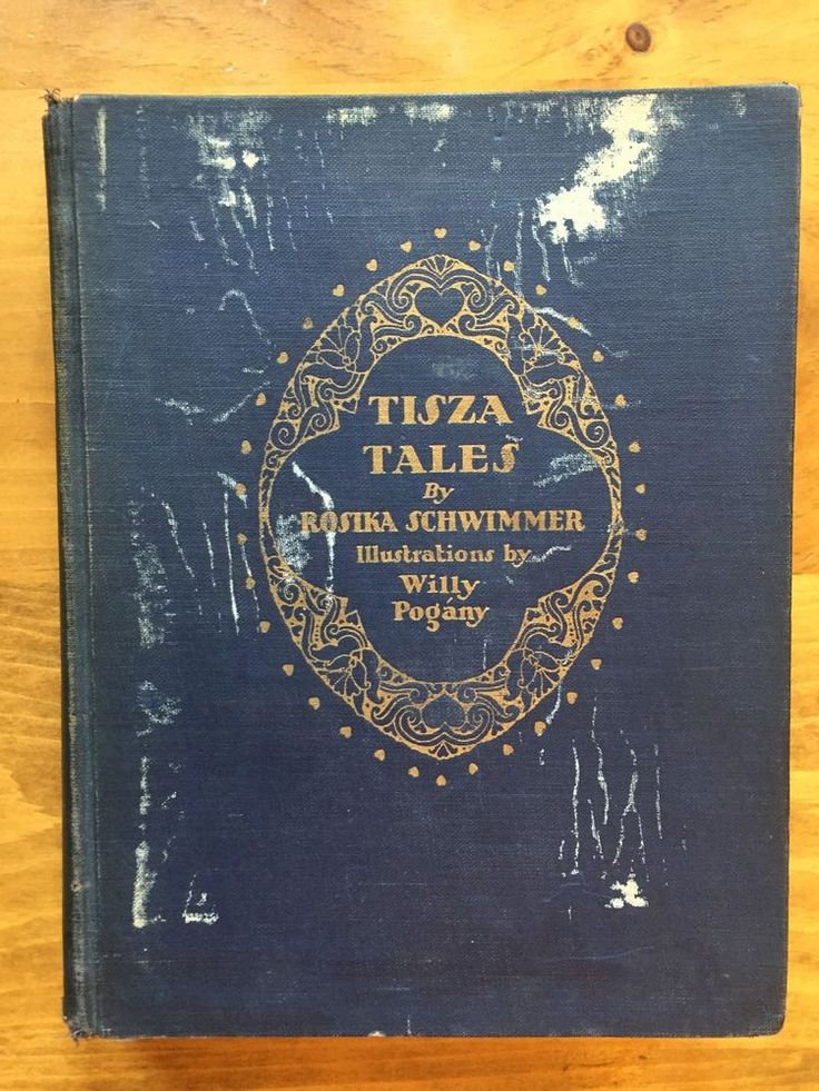 TISZA TALES Rosika Schwimmer Willy Pogany Illustrated Hardcover 1928 1st Edition