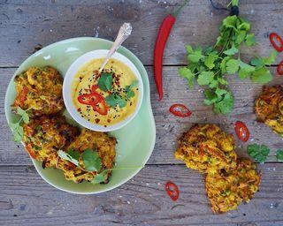 Indiske pakoras - indbagte grøntsager med mango dip | Vanløse blues... | Bloglovin