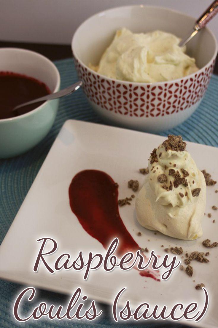 Raspberry Coulis (sauce)