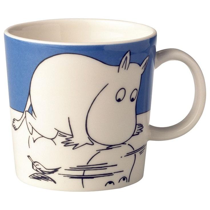 Iittala moomin mug Moomintroll on Ice