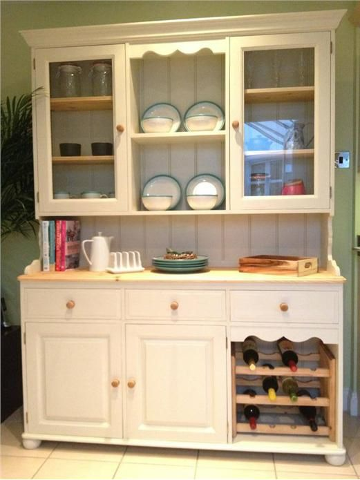 An inspirational image from Farrow and Ball. Dresser in New White No 59.