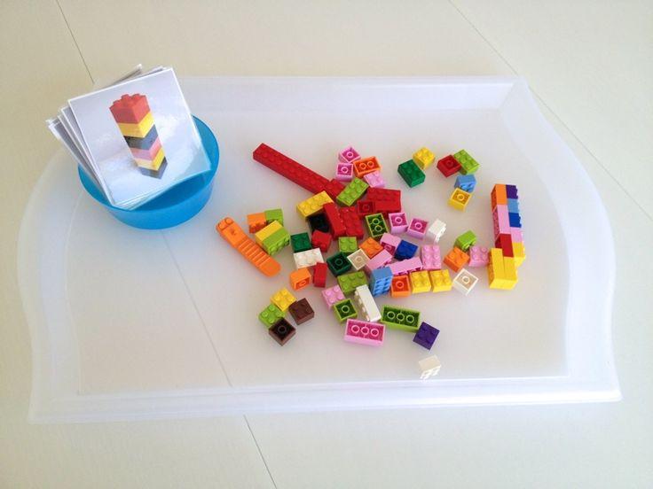 LEGO Patterns Busy Box - Mama. Papa. Bubba.Mama. Papa. Bubba.