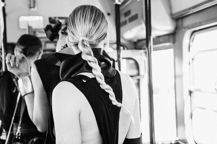 gTIE leather accessories S/S15 | Fashion Tram | photo: Diana Luganski