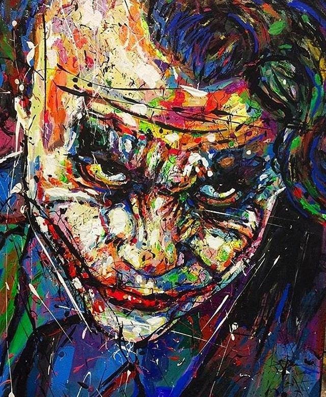 Heath Ledger The Joker Joker Art Joker Joker Comic