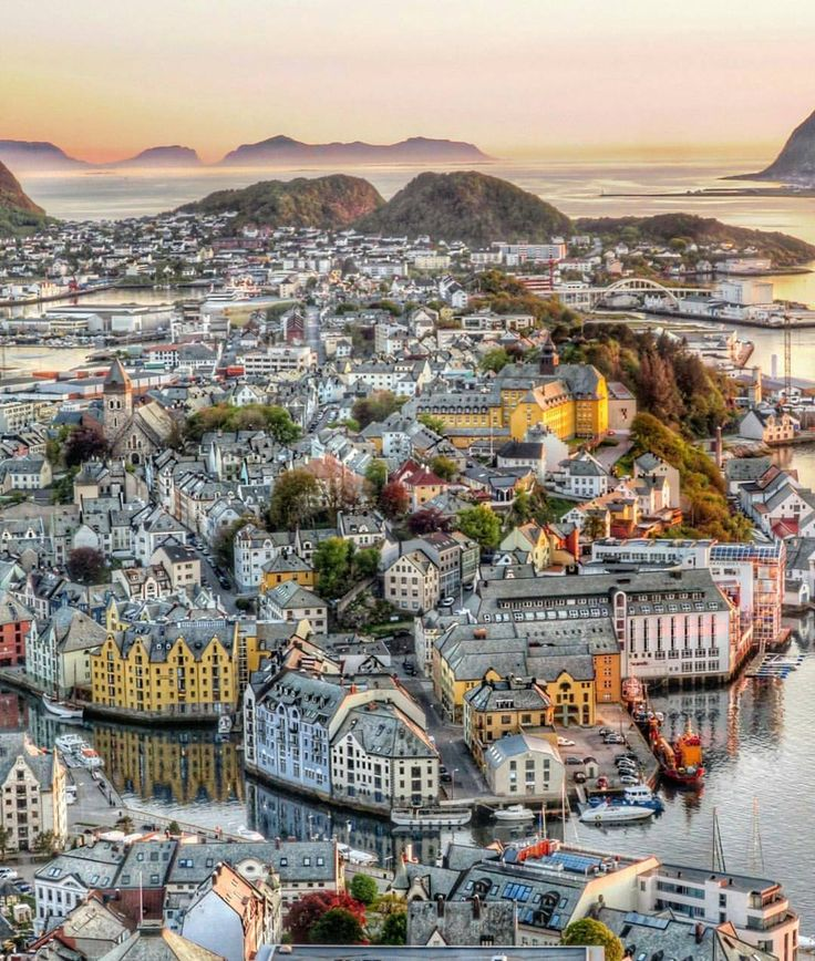 Alesund, Norway by @maysan2611 via @mittnorge on Instagram