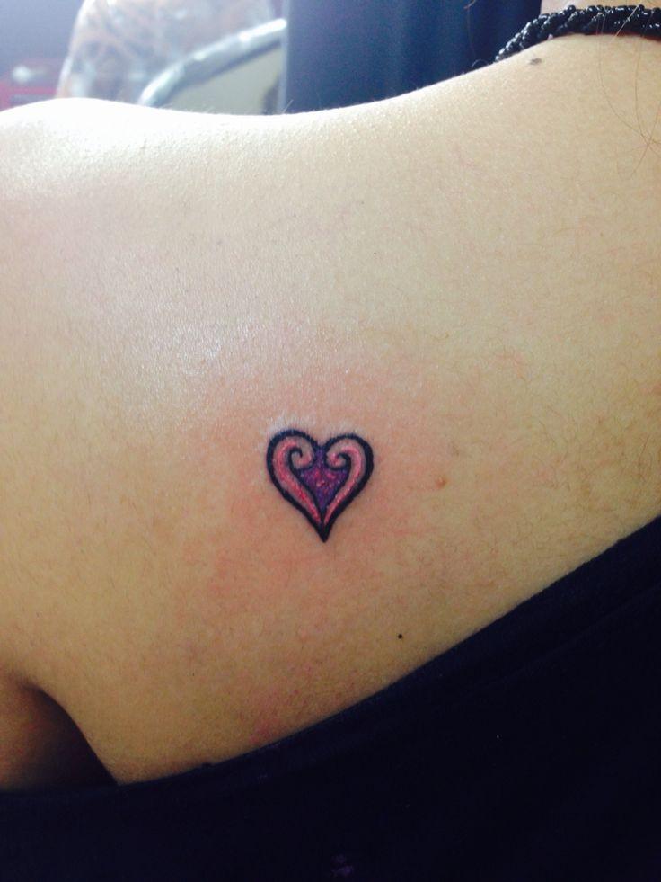 Maori Heart Tattoo