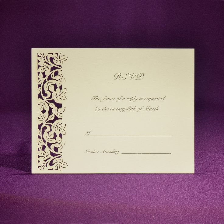 The 28 best Accessory/RSVP Cards images on Pinterest Orchid, Rsvp
