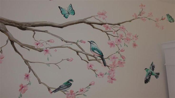 Meer dan 1000 idee n over slaapkamer muurschilderingen op pinterest graffiti slaapkamer - Ontwerp muurschildering ...