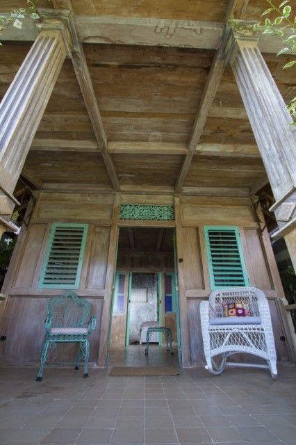 Peranakan Style wood house in Roemah Peranakan Bali