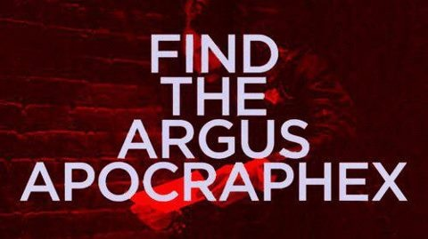 'Find the Argus apocraphex' - hidden message in the official music video to 'Hurricane' by 30 Seconds to Mars #bartholomew #cubbins #echelon