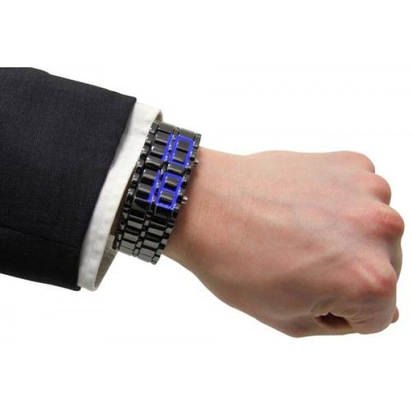 Armour Blue LED Watch