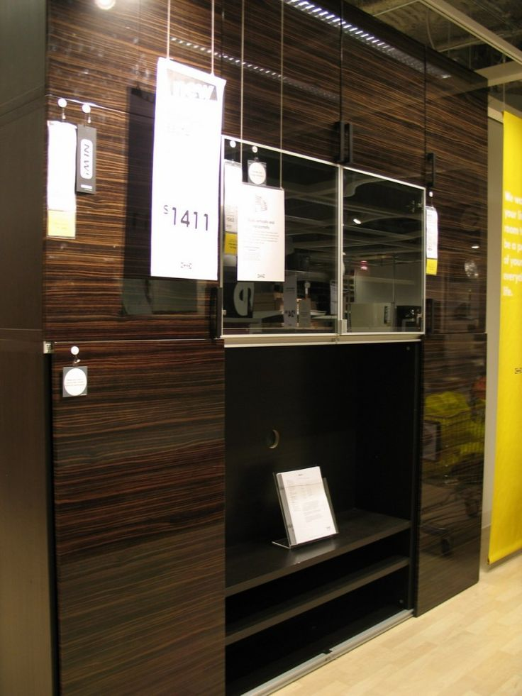 Ikea Besta Black Brown Closets For A Shop O Holic