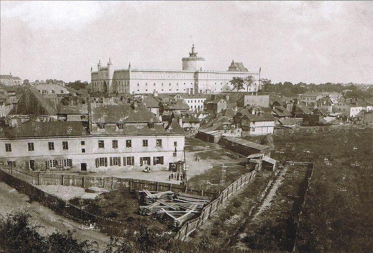Widok Zamku sprzed 1895r. (podobno)
