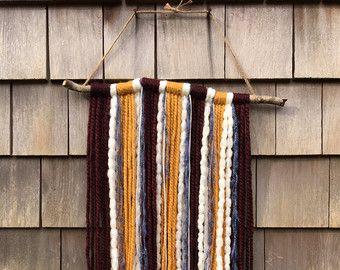 Aplique moderno hilo tapicería 48 x 36 por neutrallove en Etsy
