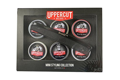 http://picxania.com/wp-content/uploads/2017/08/uppercut-6-tin-mens-hairstyling-pomade-kit-travel-sized-set-of-easy-hold-featherweight-matt-clay-monster-hold-deluxe-and-matt-pomades-with-a-braidz-comb.jpg - http://picxania.com/uppercut-6-tin-mens-hairstyling-pomade-kit-travel-sized-set-of-easy-hold-featherweight-matt-clay-monster-hold-deluxe-and-matt-pomades-with-a-braidz-comb/ - Uppercut 6 Tin Men's Hairstyling Pomade Kit - Travel Sized Set of Easy Hold, Featherweight, Matt C