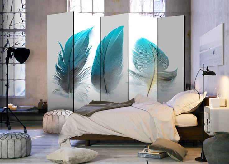 NOWOŚĆ! Parawan dekoracyjny 5 części b-B-0205-z-c - artgeist - Dekoracje