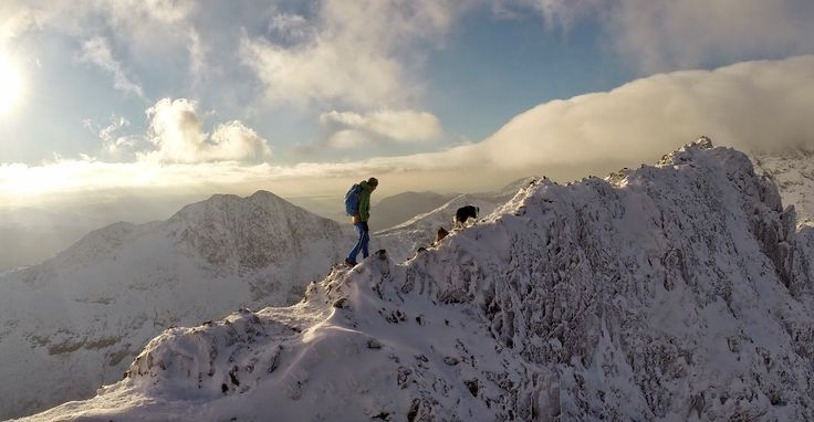 Rob Johnson: Crib Goch in the snow