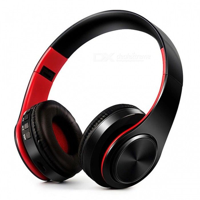 Bluetooth Wireless Stereo Sport Headphone with Mic - Black, Red - Free Shipping - DealExtreme
