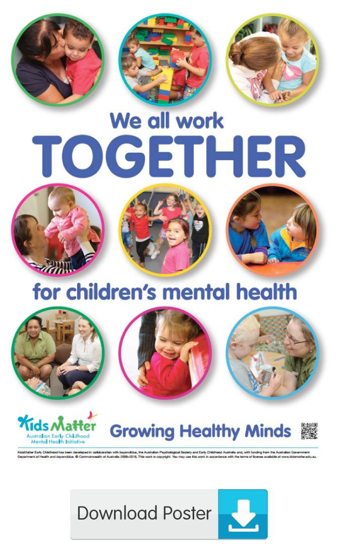 26 best Posters - KidsMatter Early Childhood images on ...