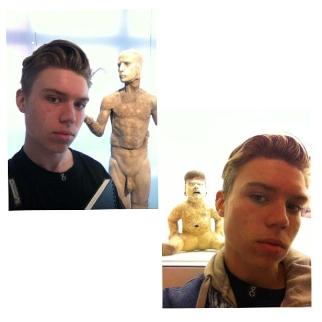 #museumselfie by kidmitchii http://ift.tt/1pb8vaF
