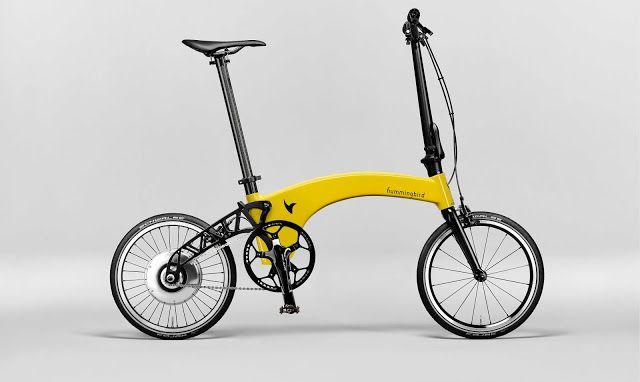 Hummingbird The World S Lightest Folding Bike Folding Bike Bike Folding Electric Bike