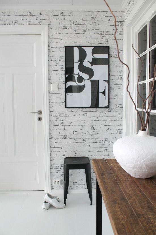 Las 25 mejores ideas sobre ladrillos blancos en pinterest - Pared ladrillo blanco ...