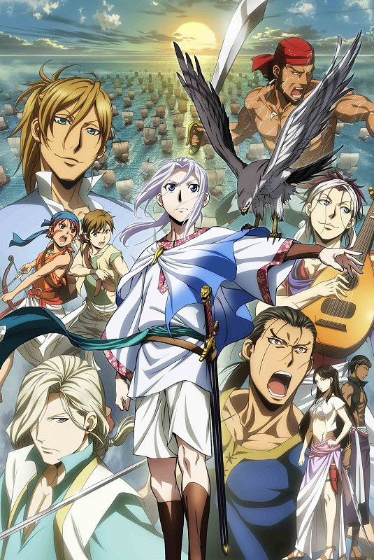 """The Heroic Legend of Arslan"" (My ranking: 7) Like power struggles, wars, plot, and character development? Then this is the anime for you. (Maturity Rating: 13+)"