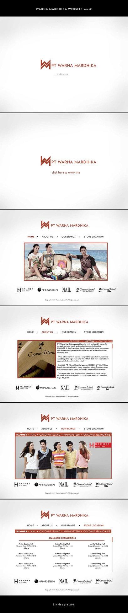 Warna Mardhika website 2nd concept