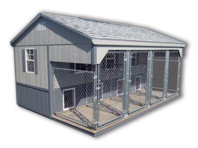 Best 25 dog house plans ideas on pinterest big dog for Dog kennel shed combo plans